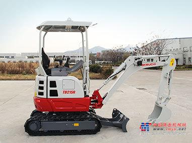 竹内微挖推荐,竹内TB215R小型挖掘机全解