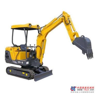 东力微挖推荐,东力DL20-8挖掘机全解