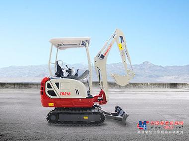 竹内微挖推荐,竹内TB218小型挖掘机全解