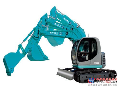 鲁牛小型挖掘机推荐,鲁牛SW90履带式挖掘机全解