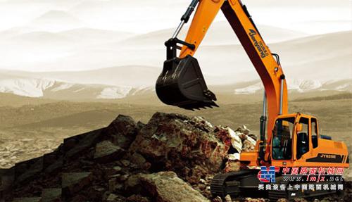 詹阳动力中型挖掘机推荐,詹阳动力JY625E挖掘机全解