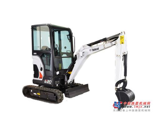 山猫微挖推荐,山猫E20小型挖掘机全解