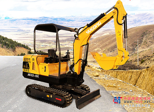 驭工小型挖掘机推荐,驭工YG22-9X(带先导操作)履带式小型液压挖掘机全解