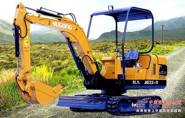 驭工微挖推荐,驭工YG22-9履带式小型液压挖掘机全解