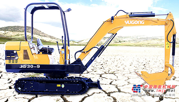 驭工小型挖掘机推荐,驭工YG30-9履带式小型液压挖掘机全解