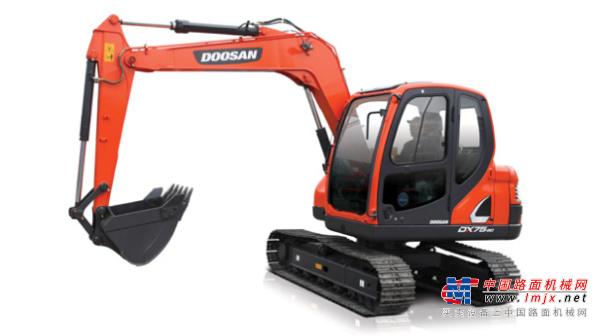 斗山小型挖掘机推荐,斗山DX75-9C挖掘机全解