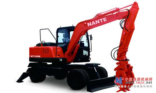 南特小型挖掘机推荐,南特NTL100全液压履带式挖掘机全解