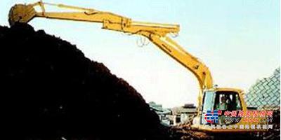 华鑫大型挖掘机推荐,华鑫HX300LC三接臂卸煤机加全解