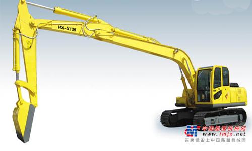 华鑫中型挖掘机推荐,华鑫HX-X200型履带式卸煤机全解