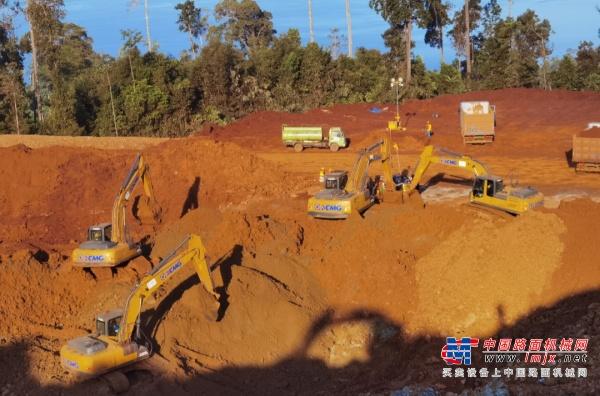 闪耀一带一路|徐工挖机助力印尼矿业开采