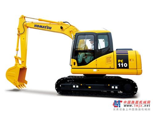 小松小型挖掘机推荐,小松PC110-8M0液压挖掘机全解