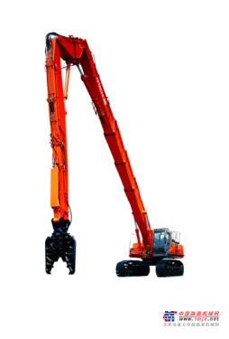 日立挖掘机推荐,原装日立ZX450LC(HL)-3高空拆除机全解