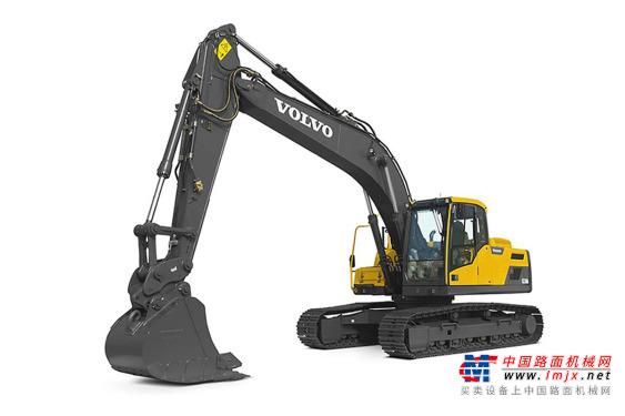沃尔沃中型挖掘机推荐,沃尔沃EC220D履带式挖掘机全解