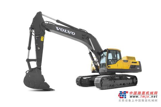 沃尔沃大型挖掘机推荐,沃尔沃EC350D履带式挖掘机全解