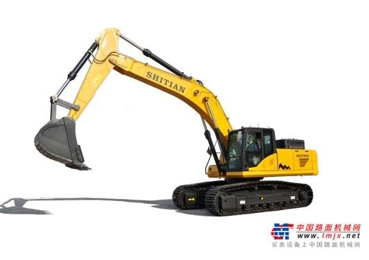 十田大型挖掘机推荐,十田重工GC378LC-9挖掘机全解