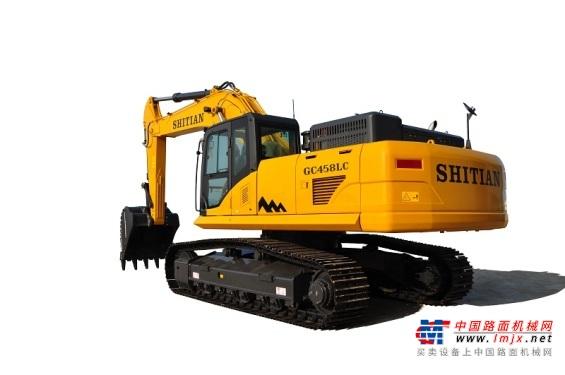 十田大型挖掘机推荐,十田重工GC458LC-9挖掘机全解