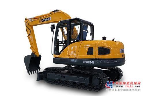 恒岳小型挖掘机推荐,恒岳重工HY85-8挖掘机全解