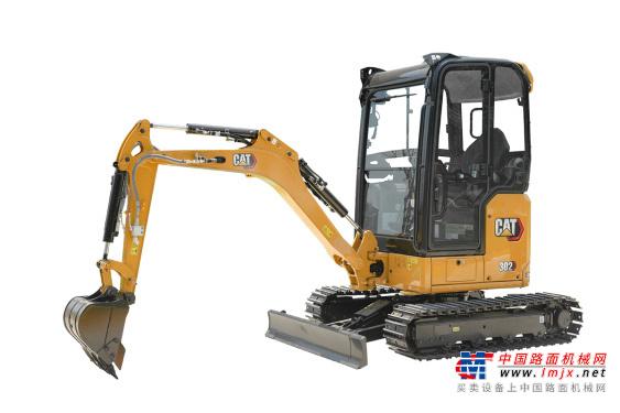卡特微挖推荐,卡特彼勒新一代Cat®302CR迷你型挖掘机全解