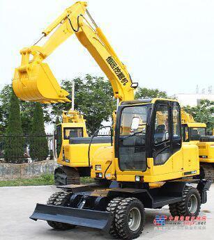 恒远小型挖掘机推荐,恒远70胶轮小型挖掘机全解