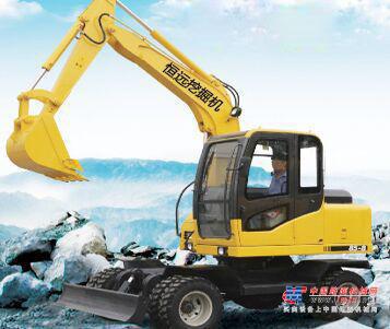 恒远小型挖掘机推荐,恒远85型胶轮小型挖掘机全解