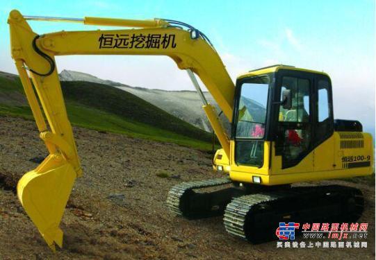 恒远小型挖掘机推荐,恒远100履带小型挖掘机全解