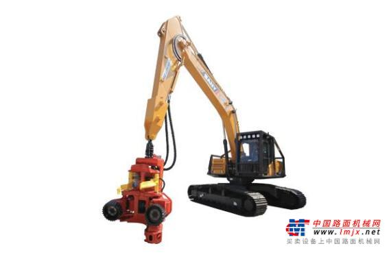 三一中型挖掘机推荐,三一重工SY245F 伐木林业机全解