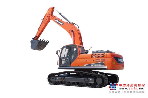 斗山中型挖掘机推荐,斗山DX260LC-9C挖掘机全解