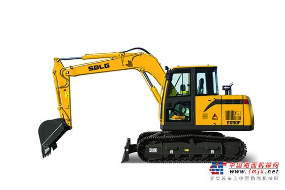 临工小型挖掘机推荐,山东临工E690F挖掘机全解