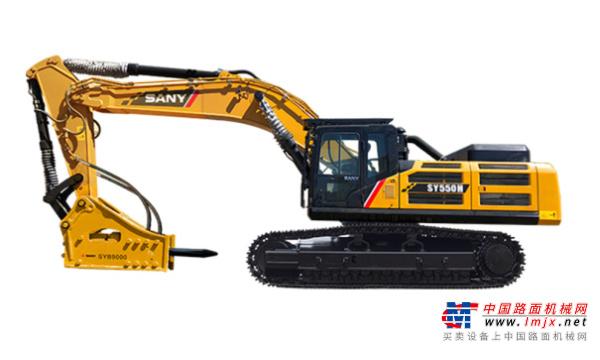 三一特大型挖掘机推荐,三一重工SY550H大型挖掘机全解