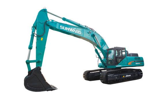 山河智能SWE470E-3大型挖掘机/