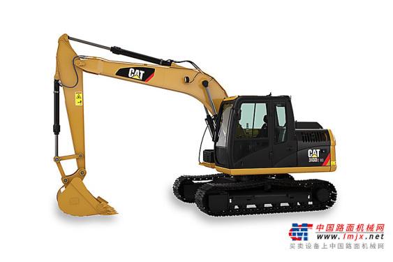 卡特中型挖掘机推荐,卡特彼勒Cat®313D2 GC挖掘机全解