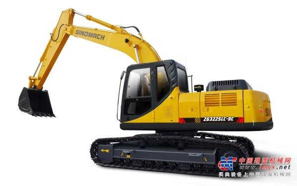 国机中型挖掘机推荐,国机重工ZG3225LC-9挖掘机全解