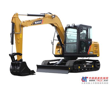 三一小型挖掘机推荐,三一重工SY75C-10小型液压挖掘机全解