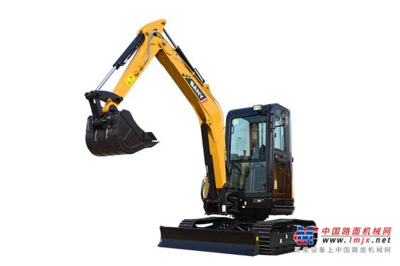 三一微挖推荐,三一重工SY35U微型挖掘机全解