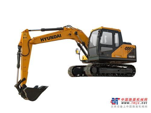 现代小型挖掘机推荐,现代重工R110VS挖掘机全解
