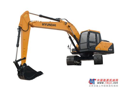 现代中型挖掘机推荐,现代重工R215VS挖掘机全解