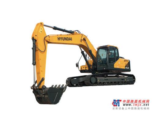 现代中型挖掘机推荐,现代重工R275L VS挖掘机全解