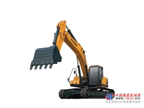 现代大型挖掘机推荐,现代重工R305LVS挖掘机全解