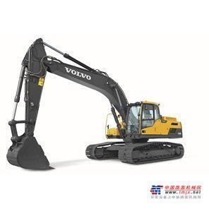 沃尔沃中型挖掘机推荐,沃尔沃EC250DLR履带式挖掘机全解