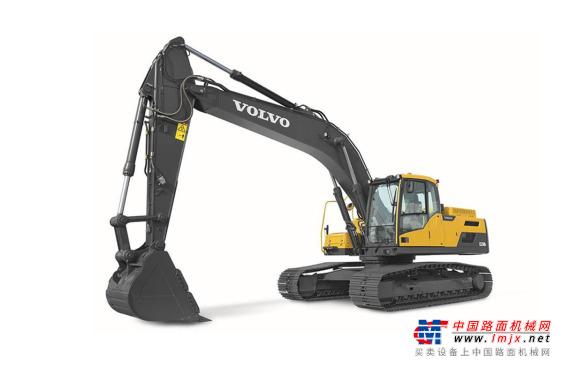 沃尔沃中型挖掘机推荐,沃尔沃EC250DL履带式挖掘机全解