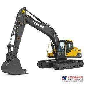 沃尔沃中型挖掘机推荐,沃尔沃EC210DLR履带式挖掘机全解