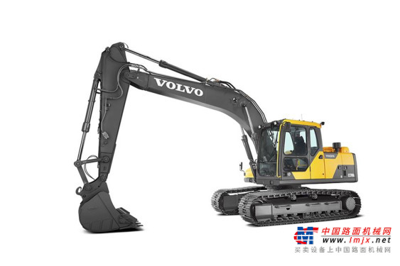 沃尔沃中型挖掘机推荐,沃尔沃EC170DL履带式挖掘机全解