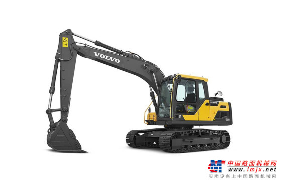 沃尔沃中型挖掘机推荐,沃尔沃EC140DL履带式挖掘机全解
