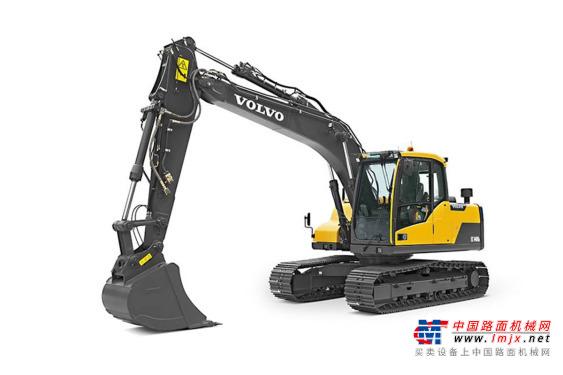 沃尔沃中型挖掘机推荐,沃尔沃EC120D履带式挖掘机全解