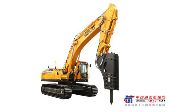临工特大型挖掘机推荐,山东临工E6500F打锤王液压挖掘机全解