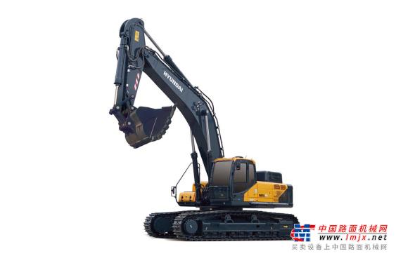 现代特大型挖掘机推荐,现代重工505L VS挖掘机全解