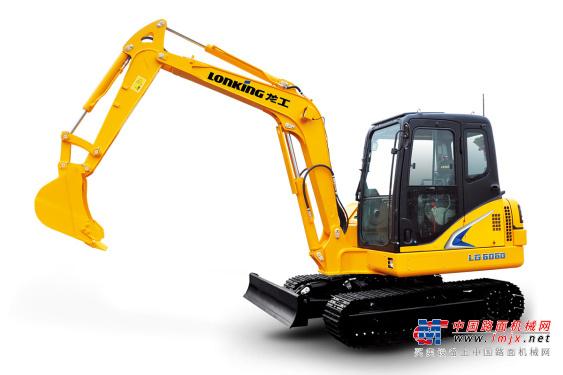 龙工小型挖掘机推荐,龙工LG6060履带式液压挖掘机全解