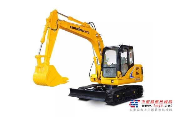 龙工小型挖掘机推荐,龙工LG6116履带式液压挖掘机全解