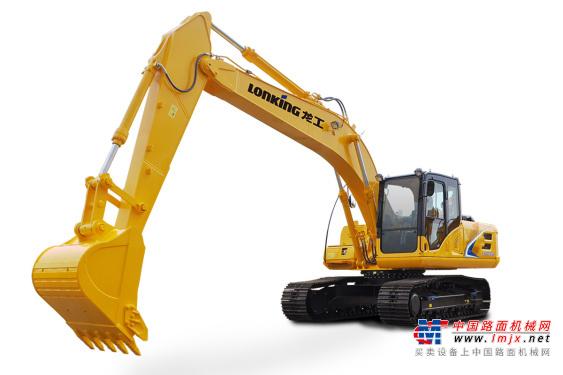 龙工中型挖掘机推荐,龙工LG6225E履带式液压挖掘机全解