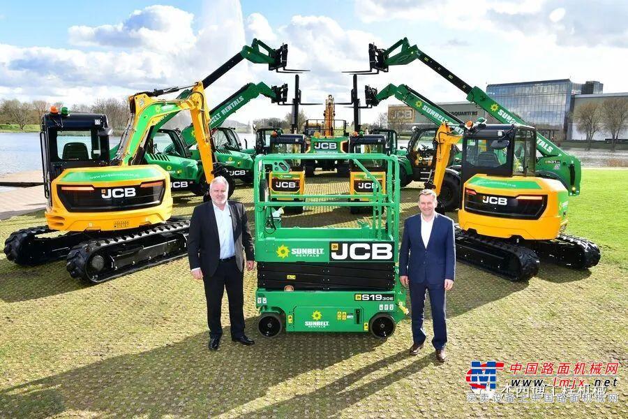 牛!JCB喜获单笔2100台设备订单!